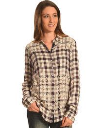 Johnny Was 3J Workshop Women's Lizette Button Back Shirt , , hi-res