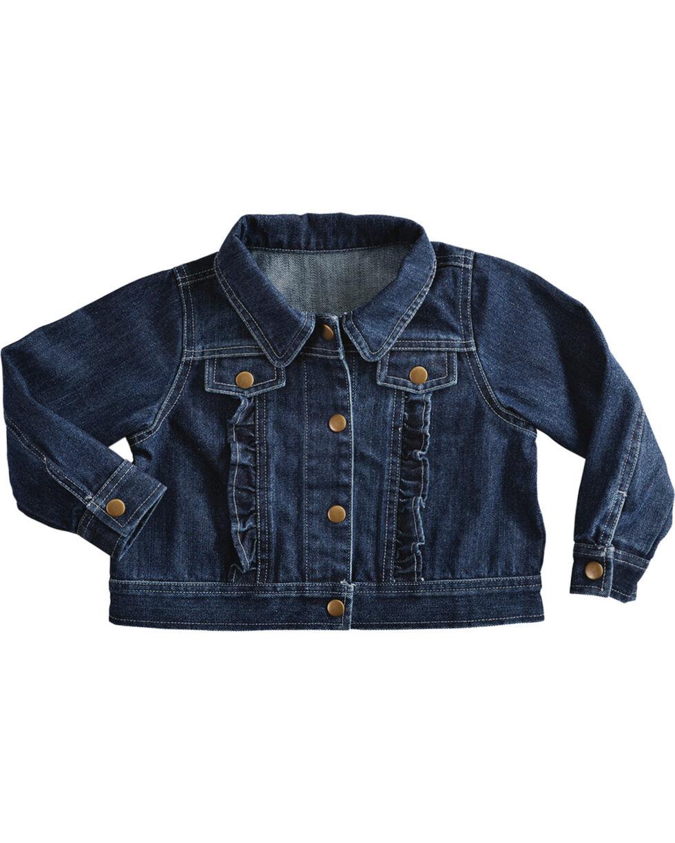 Red Ranch Girls' Denim Jacket, Denim, hi-res
