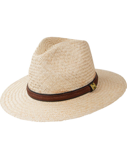 Peter Grimm Radcliff Flat Brim Hat, Natural, hi-res