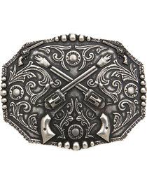 Cody James®  Men's Dual Pistol Belt Buckle, , hi-res