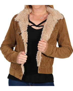 White Crow Women's Corduroy Jacket, Brown, hi-res