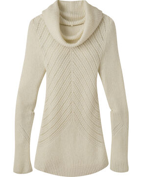 Mountain Khakis Women's Countryside Cowl Neck Sweater, Cream, hi-res