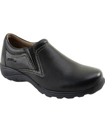 Eastland Women's Black Liliana Slip-Ons , , hi-res