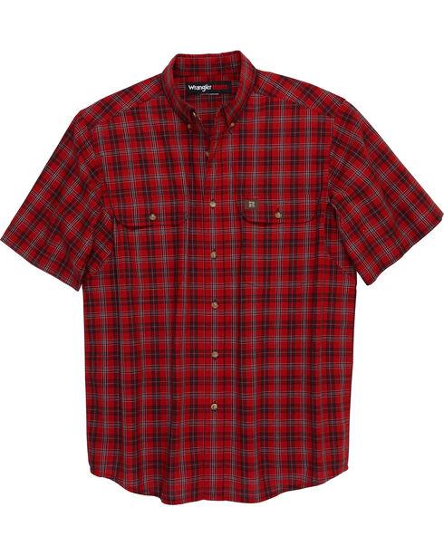 Wrangler Men's Riggs Workwear Foreman Plaid Work Shirt , , hi-res