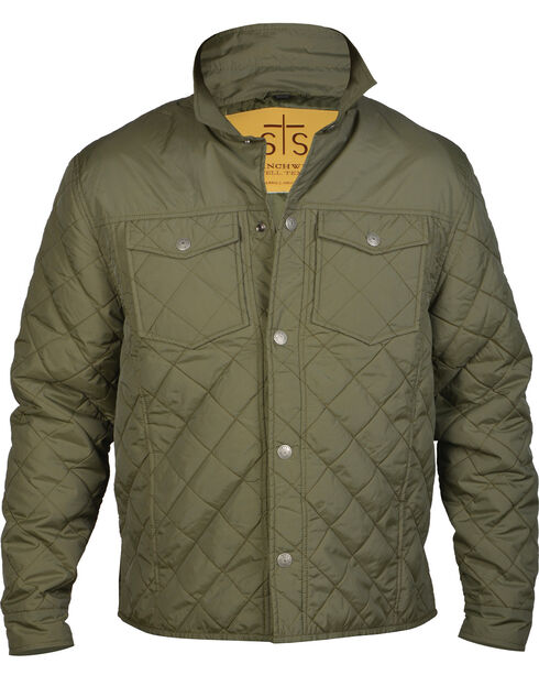 STS Ranchwear Men's Cassidy Jacket - Big & Tall, Green, hi-res