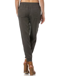 Miss Me Charcoal Grey Jogger Capris , , hi-res