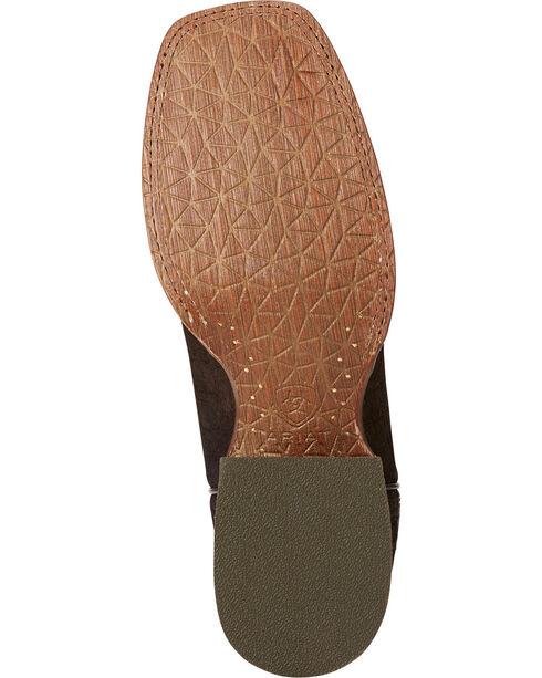 Ariat Men's Circuit Stride Tiger Print Boots - Square Toe , Tan, hi-res