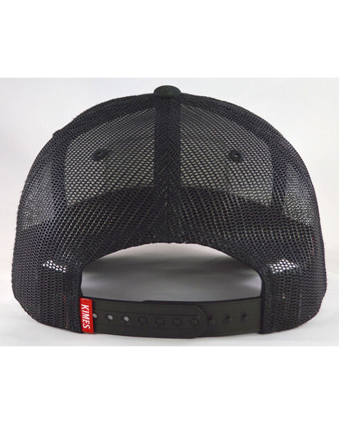 Kimes Ranch Men's Black All Mesh Trucker Cap, , hi-res