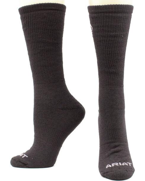 Ariat Men's Micro Modal Uniform Socks - Two Pack, Black, hi-res