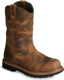 """John Deere® Men's 10"""" Waterproof Boots, , hi-res"""