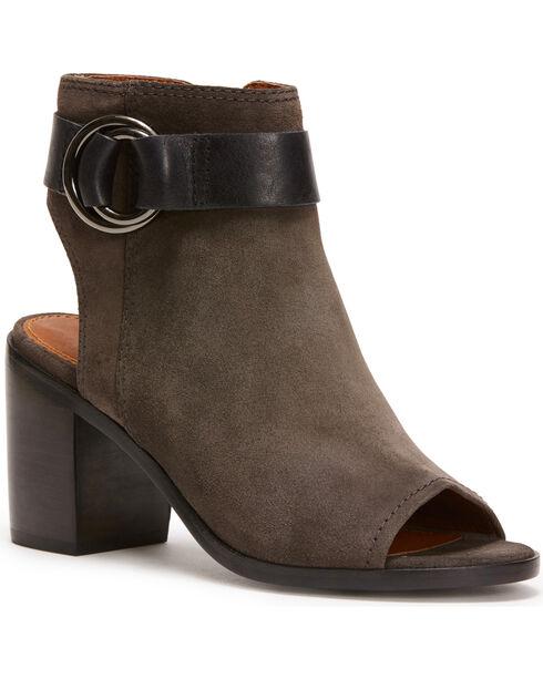 Frye Women's Grey Danica Harness Shoes , Grey, hi-res