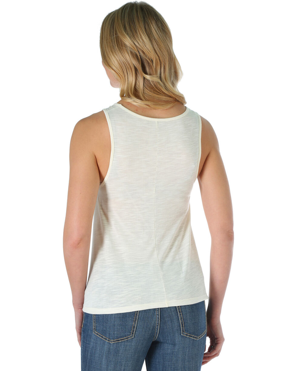 Wrangler Women's Whiskey Tank , Cream, hi-res