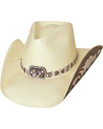 Bullhide Cowgirl Fantasy Shantung Straw Cowgirl Hat, Natural, hi-res