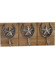 BB Ranch® Triple Horseshoe Wall Hook, , hi-res