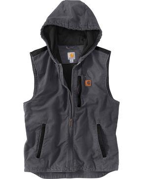 Carhartt Men's Dark Grey Knoxville Vest - Big and Tall, Dark Grey, hi-res