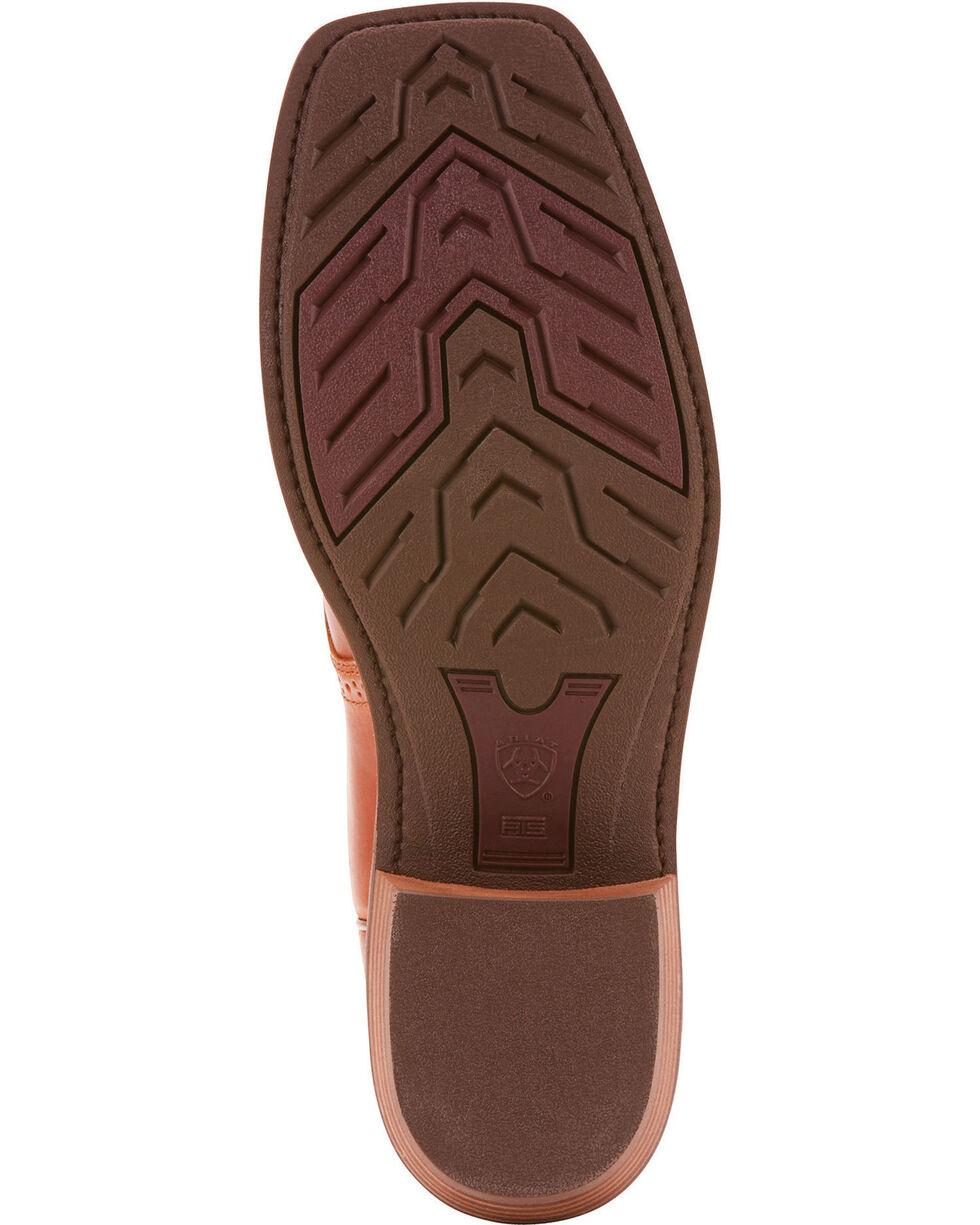 Ariat Men's Heritage Roughstock Native Nutmeg Cowboy Boots - Square Toe, Brown, hi-res