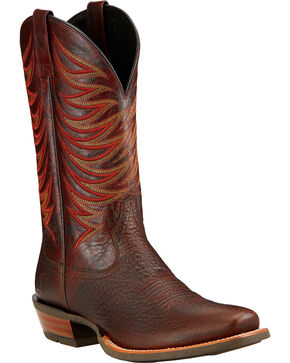 Ariat Men's Crosswire Performance Western Boots, Brown, hi-res
