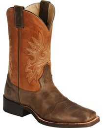 Double H Roper Cowboy Boots - Wide Square Toe, , hi-res