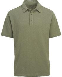 Woolrich Men's Tall Pine Slub Polo Shirt , , hi-res
