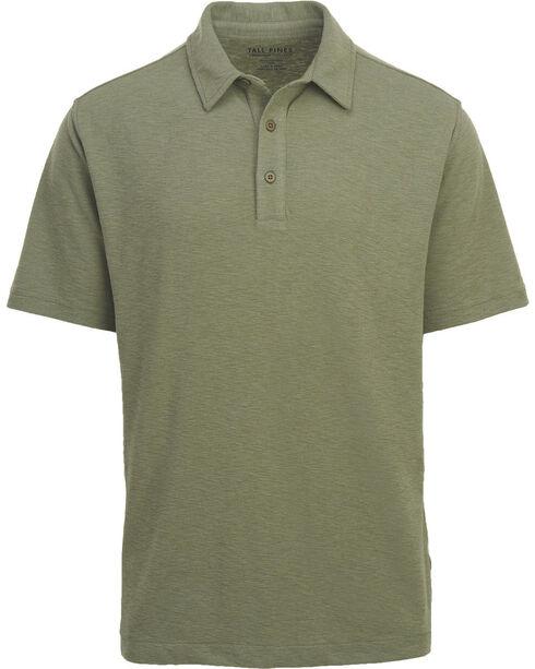 Woolrich Men's Tall Pine Slub Polo Shirt , Green, hi-res