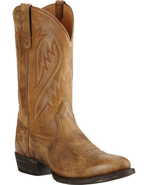 Ariat Men's Cut Loose Western Boots, Brown, hi-res