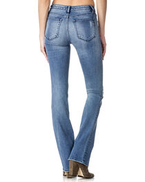 Miss Me Women's Indigo Destructed Jeans - Boot Cut , , hi-res
