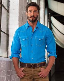 Ryan Michael Men's Whip Stitch Long Sleeve Shirt, , hi-res