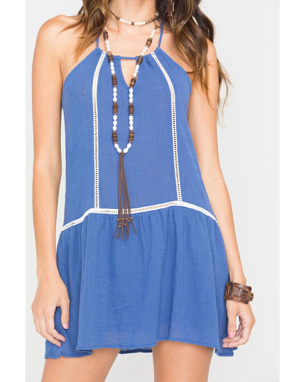 Sage the Label Women's Tulum Tunic , Blue, hi-res