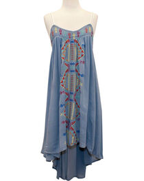 Young Essence Women's Embroidered Boho Dress, , hi-res