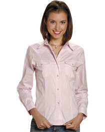 Roper Women's Stretch Poplin Shirt, , hi-res
