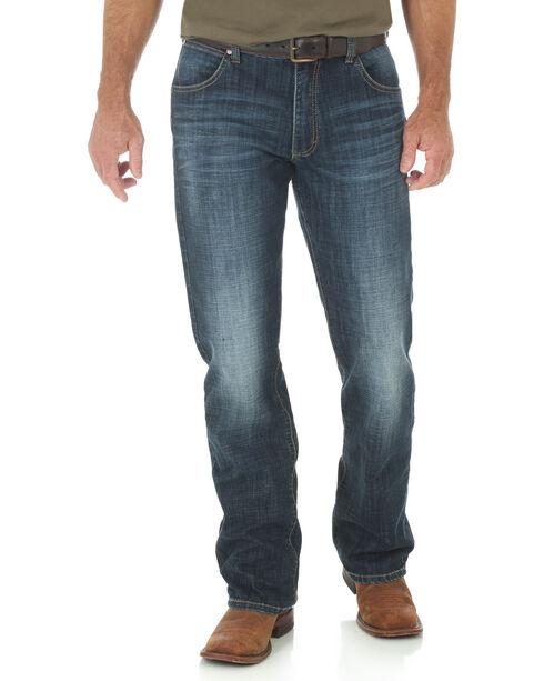 Wrangler Men's Retro Slim Boot Cut Jeans, Indigo, hi-res