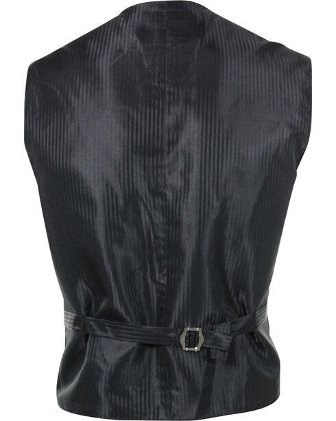 Cody James® Men's Paisley 5-Button Vest, Brown, hi-res