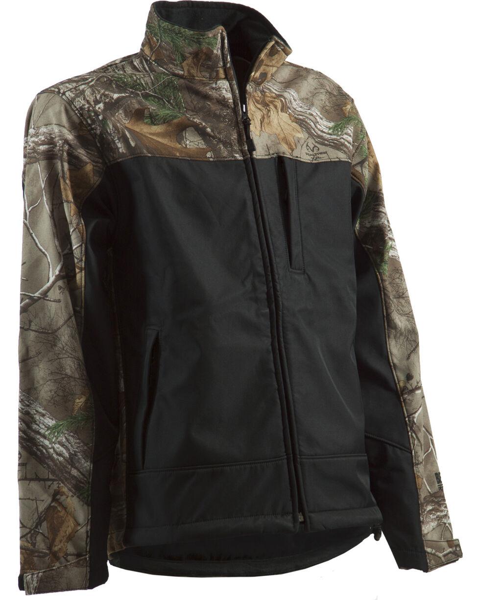 Berne Lodge Softshell Jacket, Camouflage, hi-res
