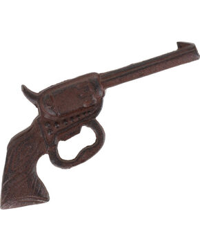 BB Ranch® Cast Iron Pistol Wall Decor, No Color, hi-res