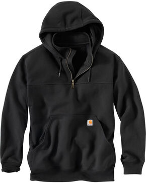 Carhartt Rain Defender Paxton Hooded Zip Mock Sweatshirt, , hi-res