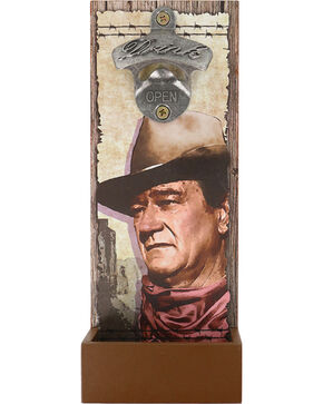 Westland Giftware John Wayne Wall Mounted Bottle Opener , No Color, hi-res