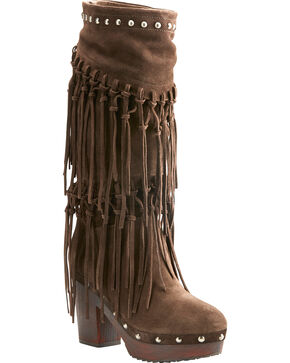 Ariat Women's Music Row Fashion Boots, Dark Brown, hi-res