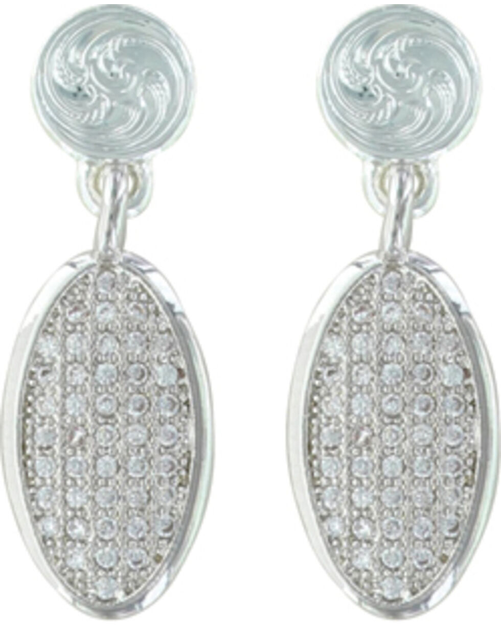 Montana Silversmiths Women's Silver Fairest Drops Of All Earrings , Silver, hi-res