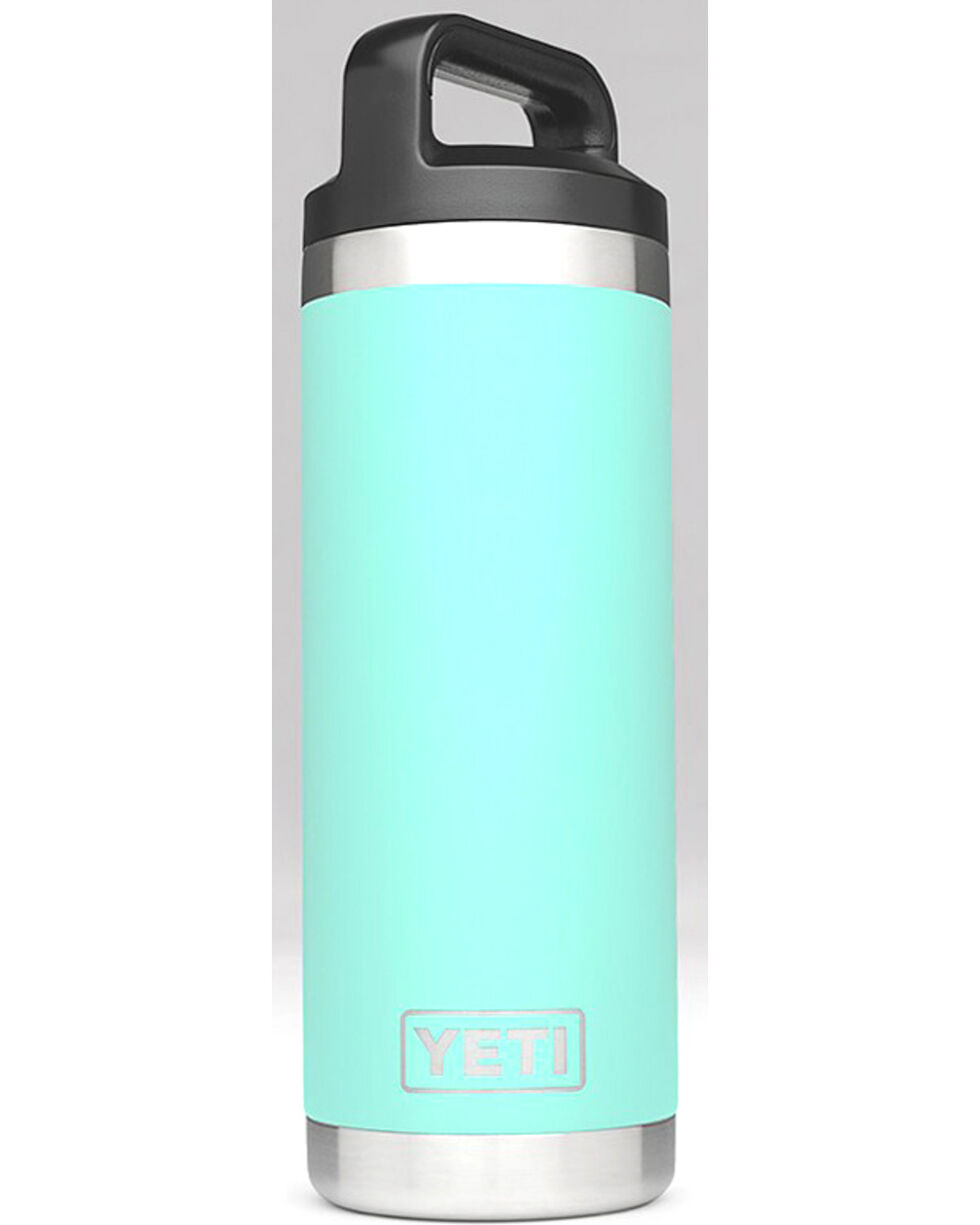 Yeti Seafoam 18 oz. Bottle Rambler , Aqua, hi-res