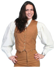 Rangewear by Scully Women's Canvas Vest, , hi-res