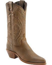 Abilene Bomber Leather Cowgirl Boots, , hi-res