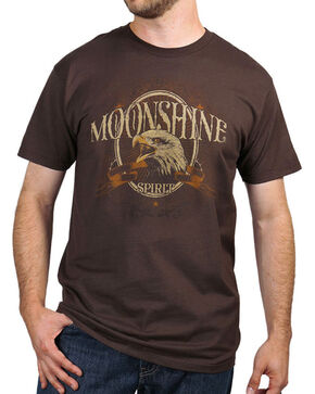 Moonshine Spirit® Men's Hawkeye T-Shirt , Brown, hi-res