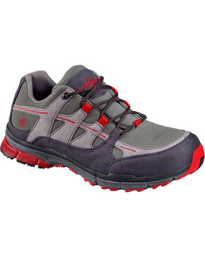 Nautilus Men's Steel Toe ESD Lace Up Athletic  Shoes, Grey, hi-res