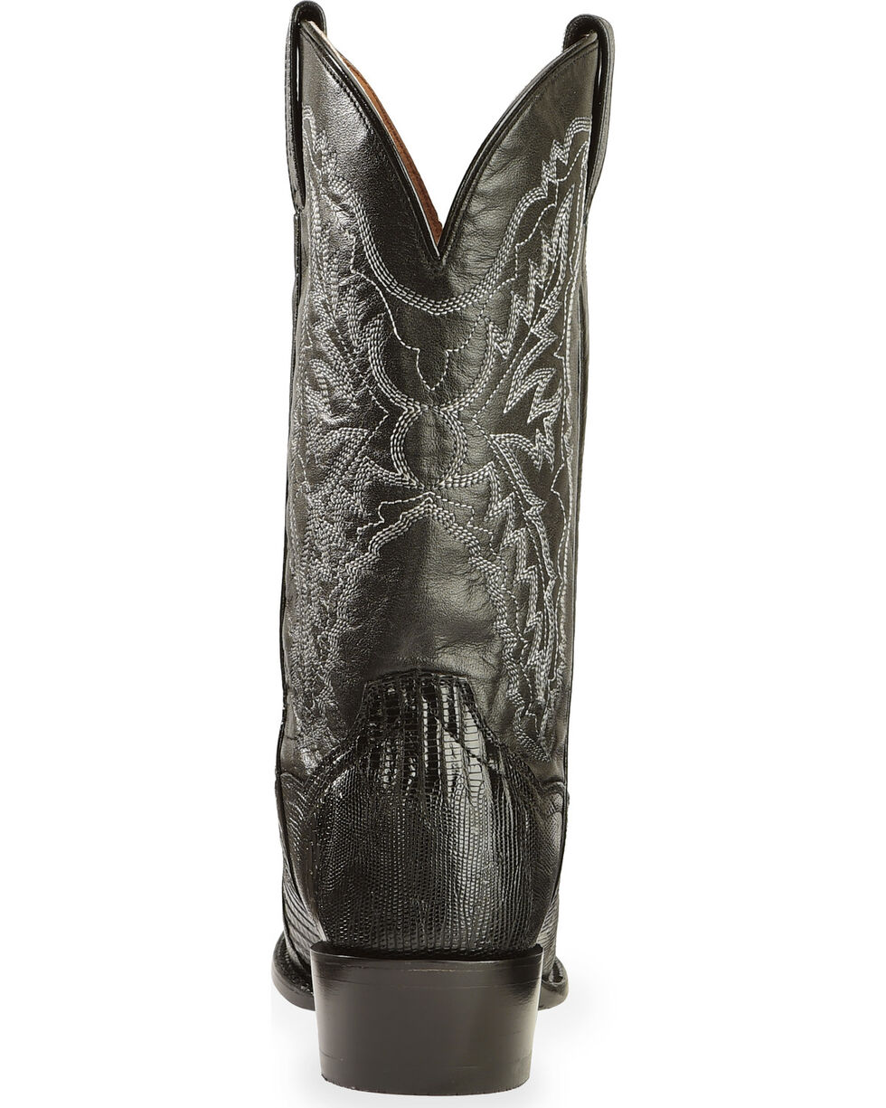 Dan Post Men's Raleigh Lizard Western Boots, Black, hi-res