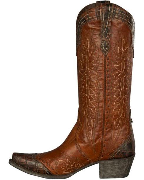 Lane Women's Double D Ramirez Western Boots, Brown, hi-res
