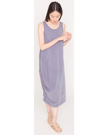 Friday's Project Women's Grey Scoop Neck  Dress , , hi-res