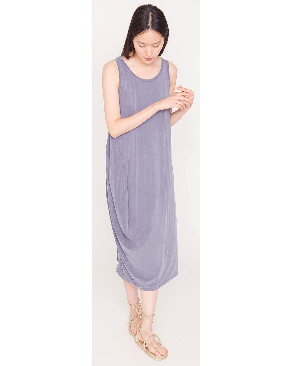 Friday's Project Women's Grey Scoop Neck  Dress , Dark Grey, hi-res