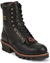 """Chippewa Men's Sportility 8"""" Insulated Logger Waterproof Work Boots, , hi-res"""