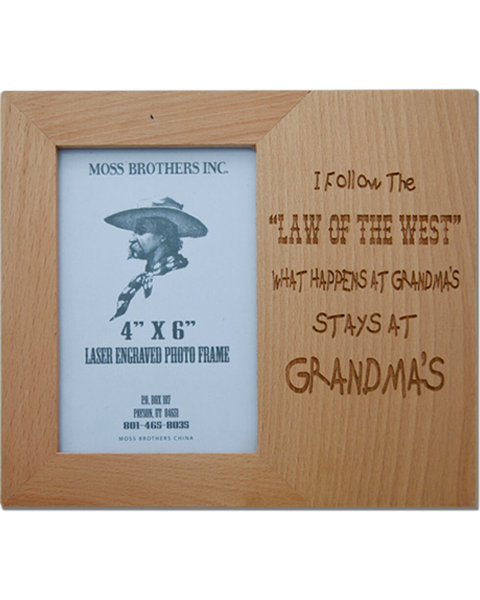 Moss Brothers I Follow... Picture Frame, Natural, hi-res