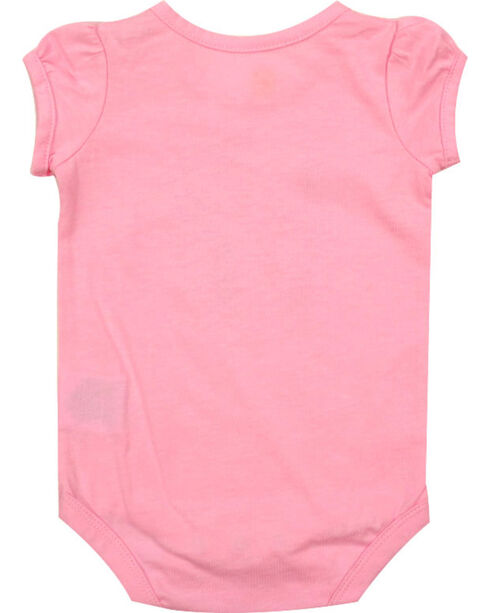 Carhartt Infant Girls' Love Horses Onesie, Pink, hi-res